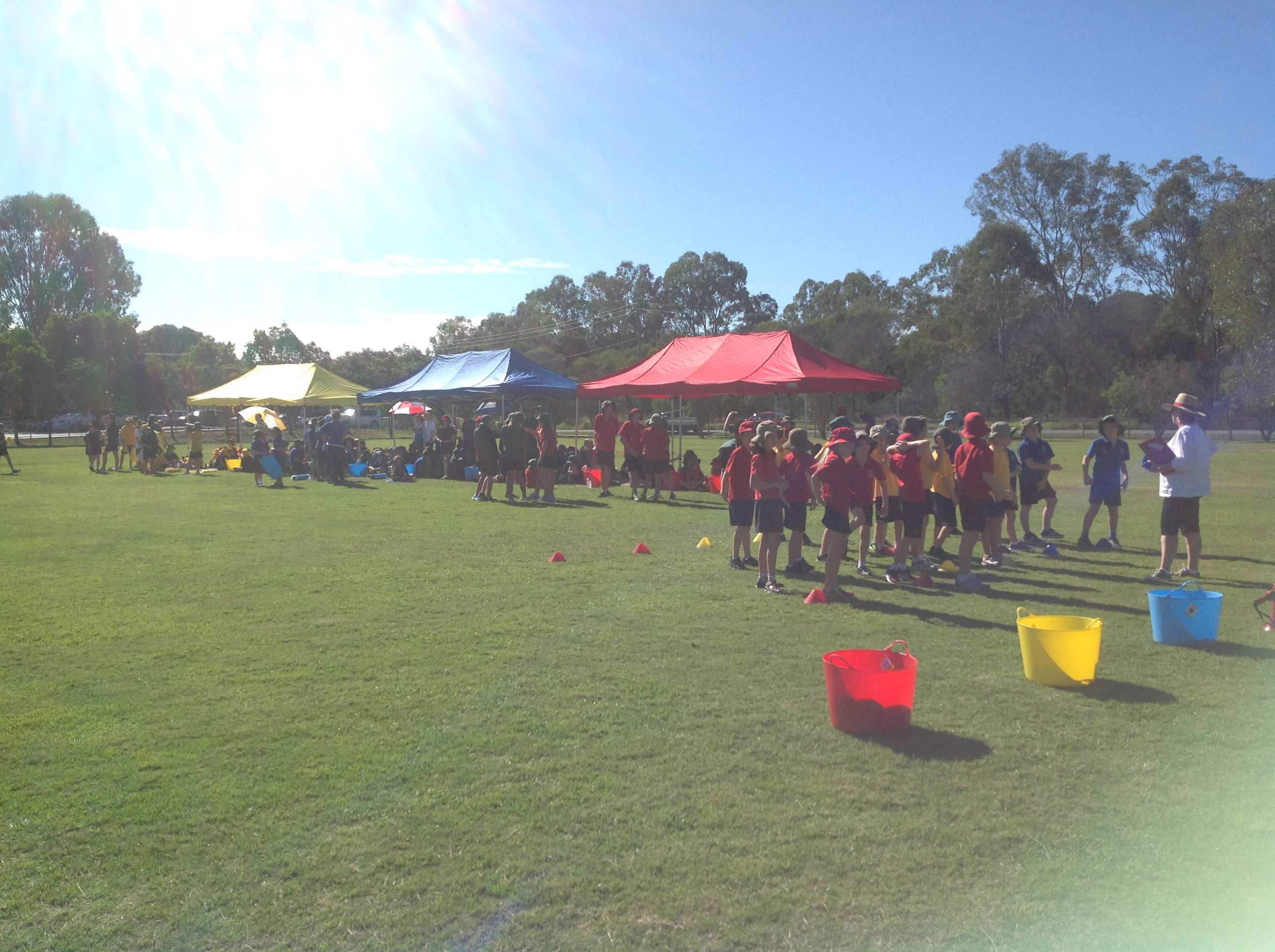 Sports Day at Carbrook SS